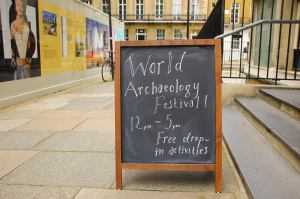World Archaeology Festival 2015 Photo: Lisa Daniel